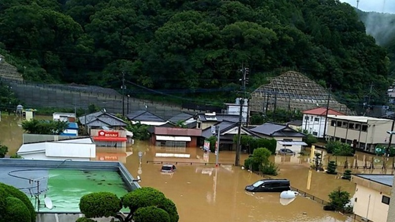 Свыше 50 человек погибли в результате ливней в Японии