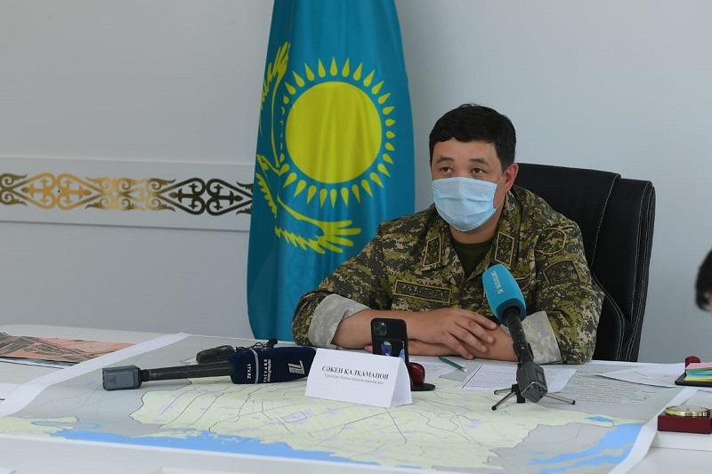 В Туркестанской области произошел сход селевых потоков: затопило 584 двора
