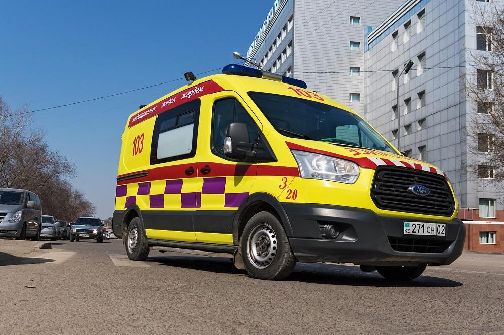 Количество вызовов скорой помощи в Нур-Султане более 3000 в сутки