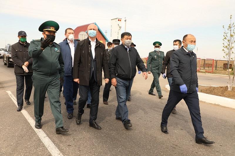 Роман Скляр проинспектировал ход реализации инфраструктурных объектов в Атырауской области