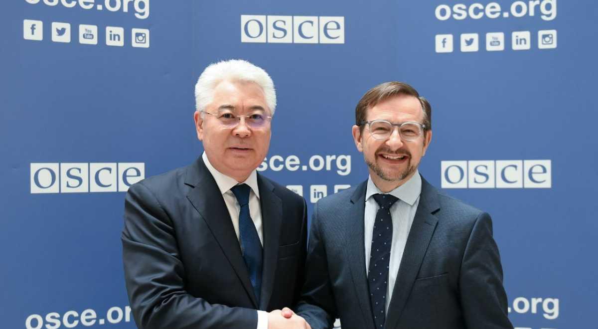 Казахстан готов содействовать усилиям ОБСЕ по укреплению безопасности – глава МИД