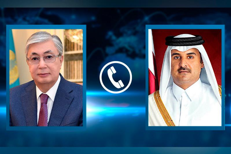 О чем президент Казахстана говорил с эмиром Катара