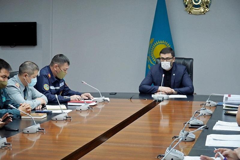 В Нур-Султане обсудили актуальные вопросы карантина