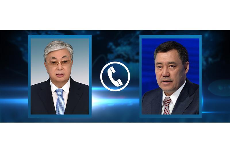 Президент Казахстана поздравил Садыра Жапарова с победой на выборах в Кыргызстане