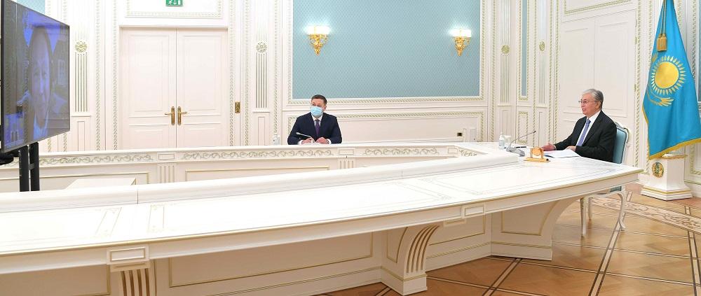 Что Касым-Жомарт Токаев обсуждал с американским экспертом