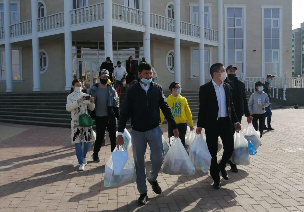 Караван милосердия продолжает свой путь в Уральске