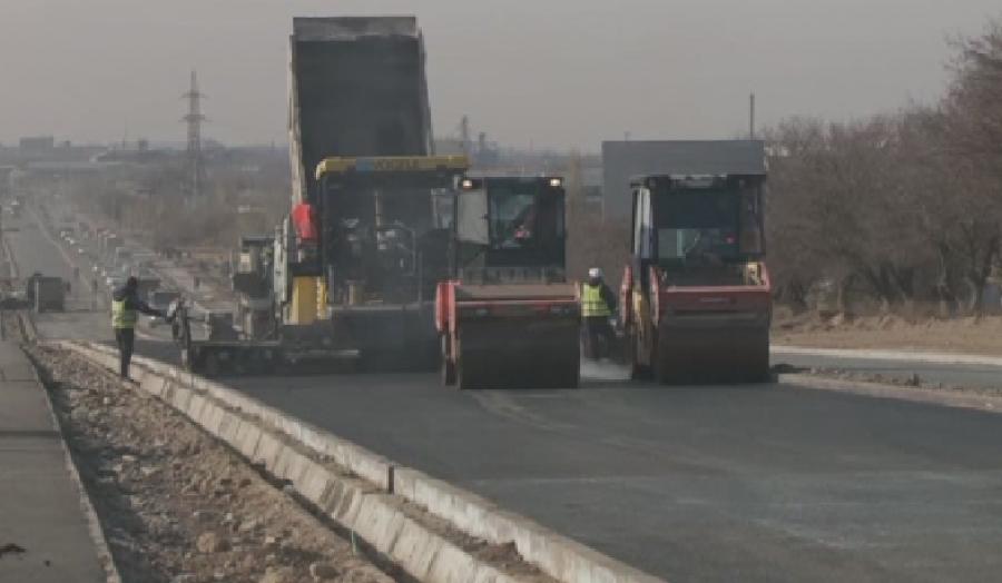 В рамках «Нурлы жол» в Туркестанской области реконструировано более 165 км дорог