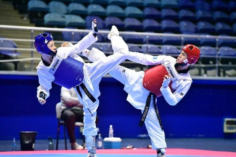 Таеквондисты РК завоевали пять медалей на международном турнире в ОАЭ