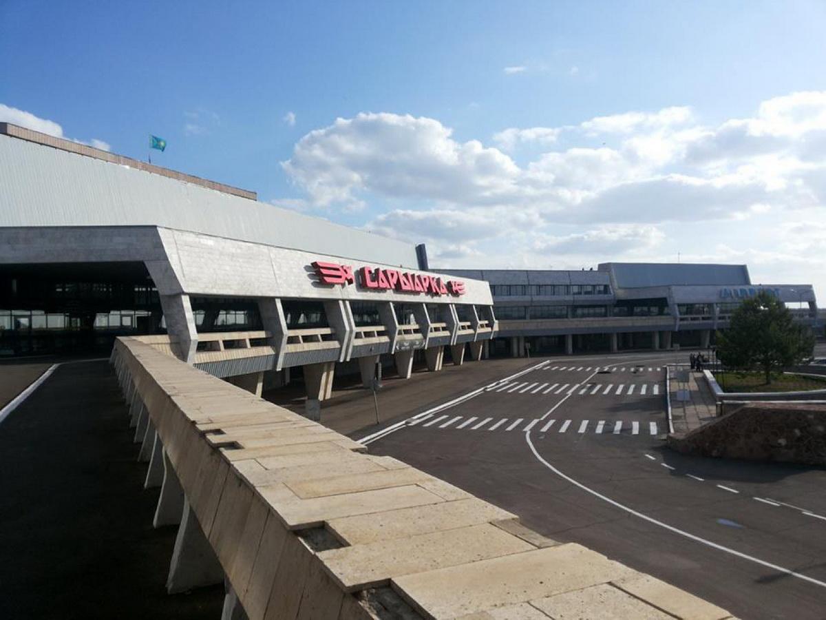 В аэропорт Караганды зараженные не попали