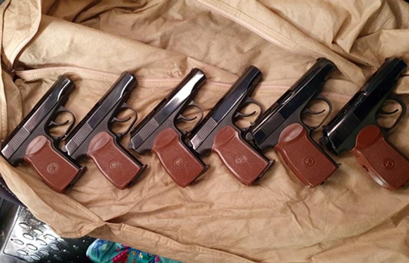 Спецслужба Казахстана ликвидировала канал поставки огнестрельного оружия и боеприпасов из России
