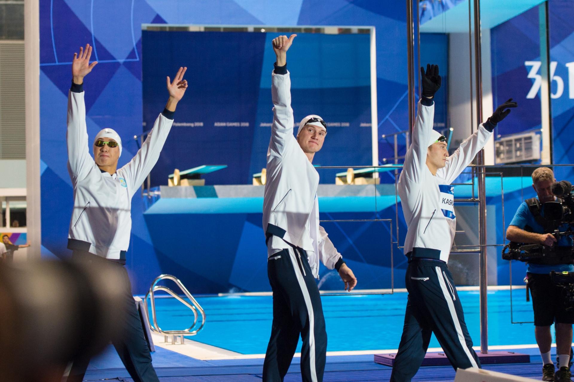 Казахстанские пловцы будут тренироваться в США