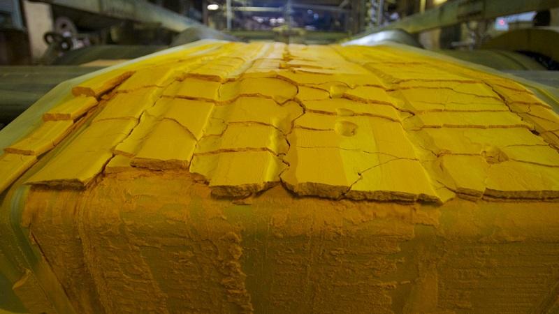 Казахстан незначительно снизил производство урана