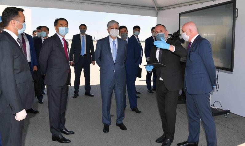 Касым-Жомарту Токаеву представили ряд инфраструктурных проектов в Алматы