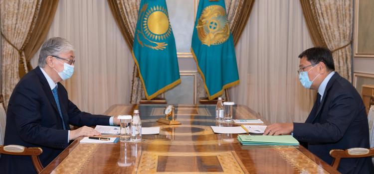 Председатель Нацбанка РК проинформировал главу государства об инфляции