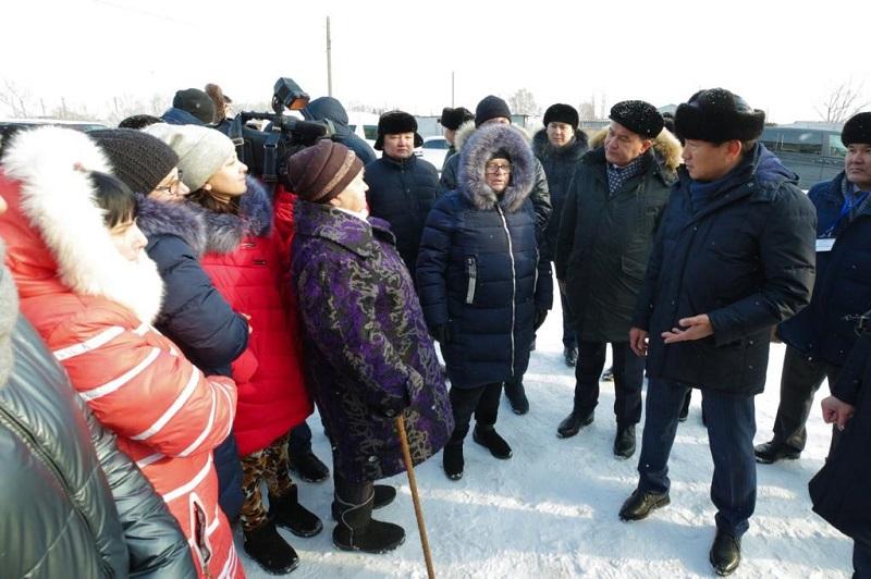Бауыржан Байбек продолжает объезд регионов