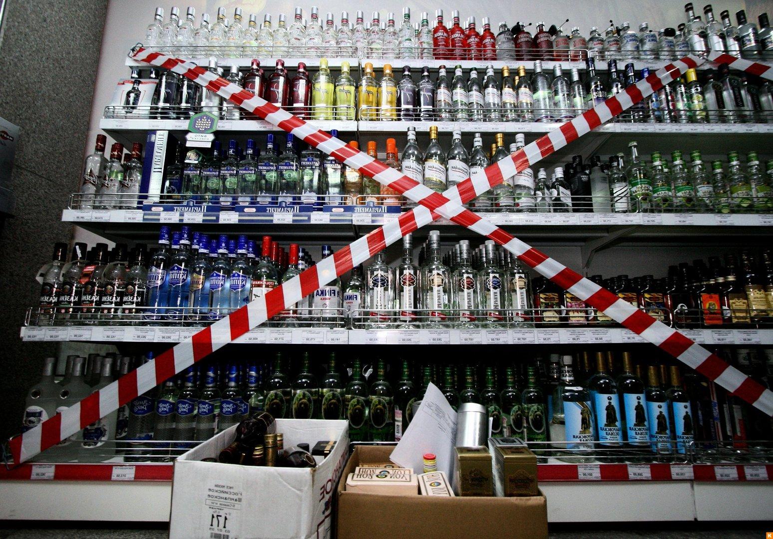 В Павлодаре оштрафовали владельцев магазинов за торговлю алкоголем