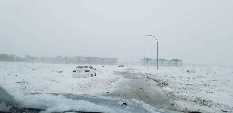 В Канаде из-за снегопада отменили около 200 авиарейсов