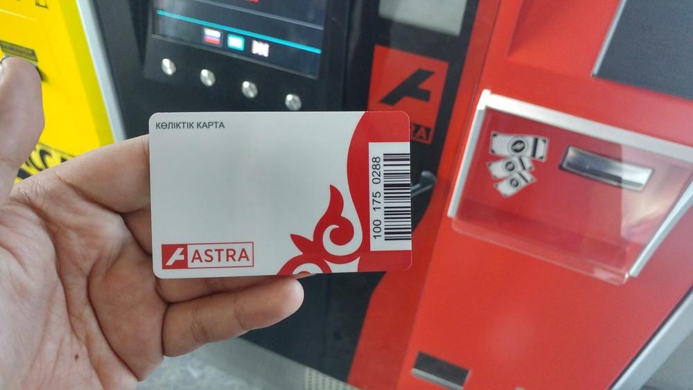Астанада жолаушылардың 94 пайызы көлік картасына көшкен