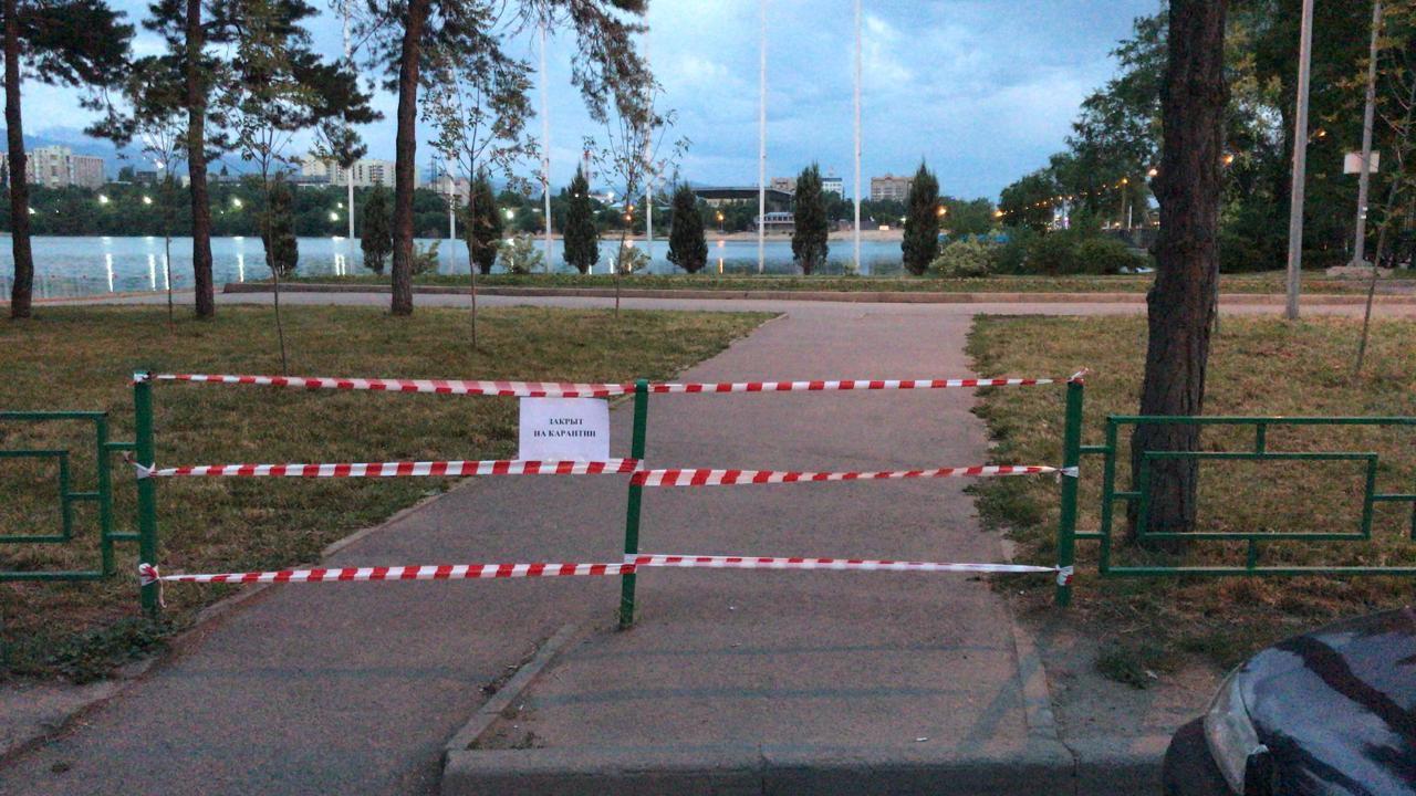Полиция Алматы усилила патрулирование общественных мест