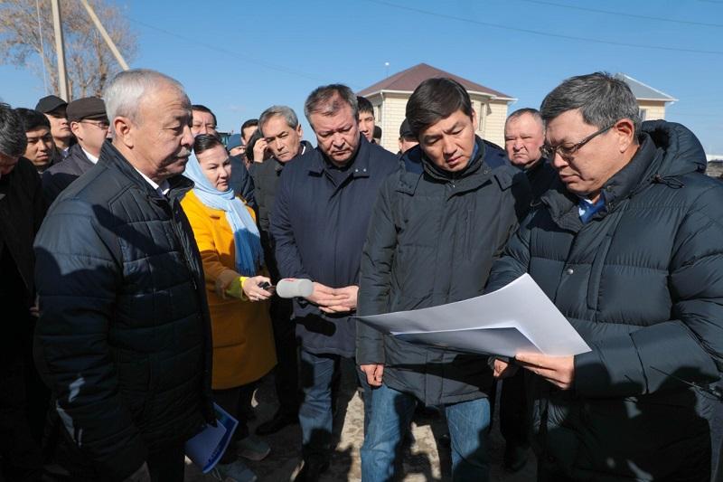 Бауыржан Байбек встретился с сельчанами Кызылординской области