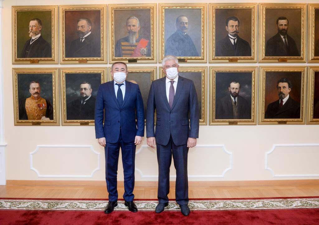 Главы МВД Казахстана и России встретились в Москве