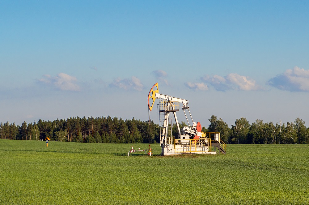 Цены на нефть снижаются, Brent торгуется на уровне $54,39 за баррель