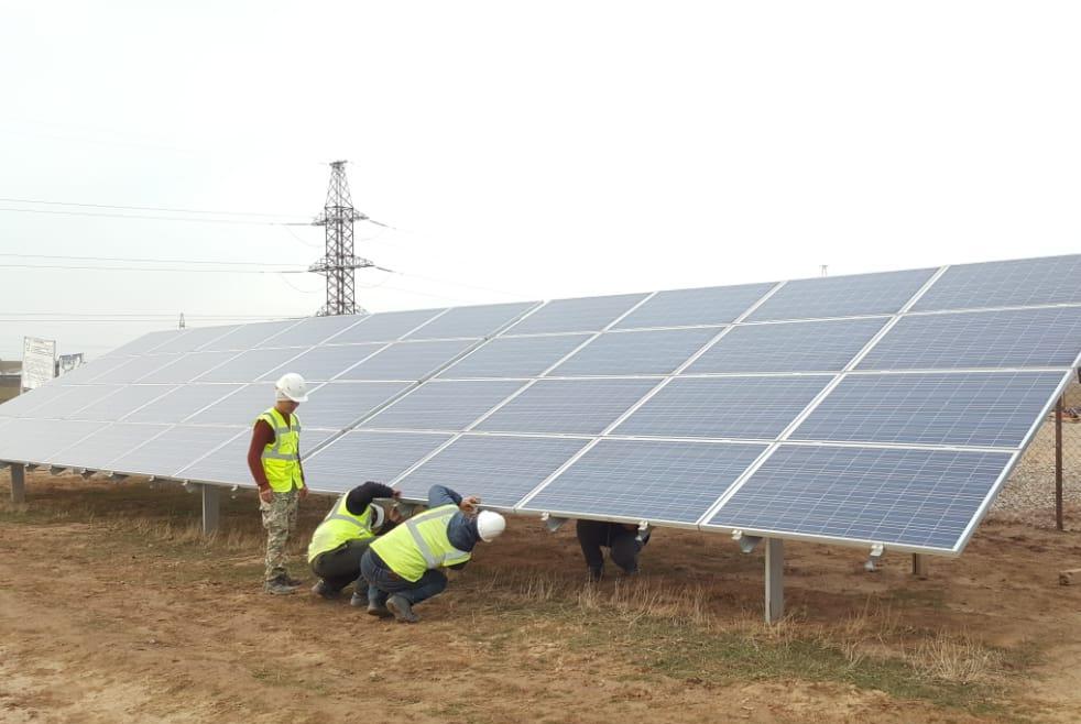 В Туркестанской области намерены запустить солнечную электростанцию