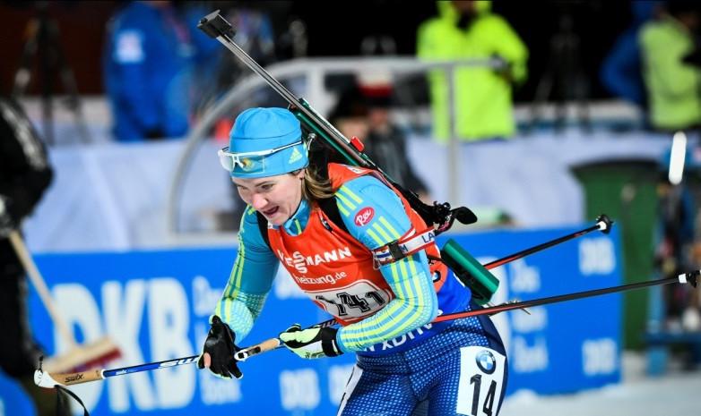Этап Кубка мира по биатлону: спортсменки РК заняли 19-е место