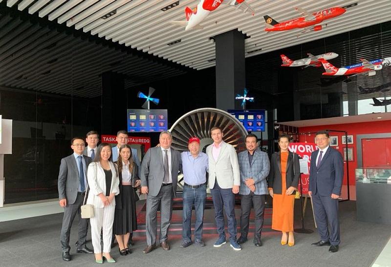 Малайзийская авиакомпания планирует открыть авиарейсы из Алматы в Европу и США