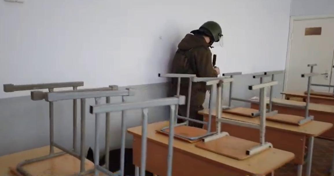 Алматы мектептерінен мина табылған жоқ