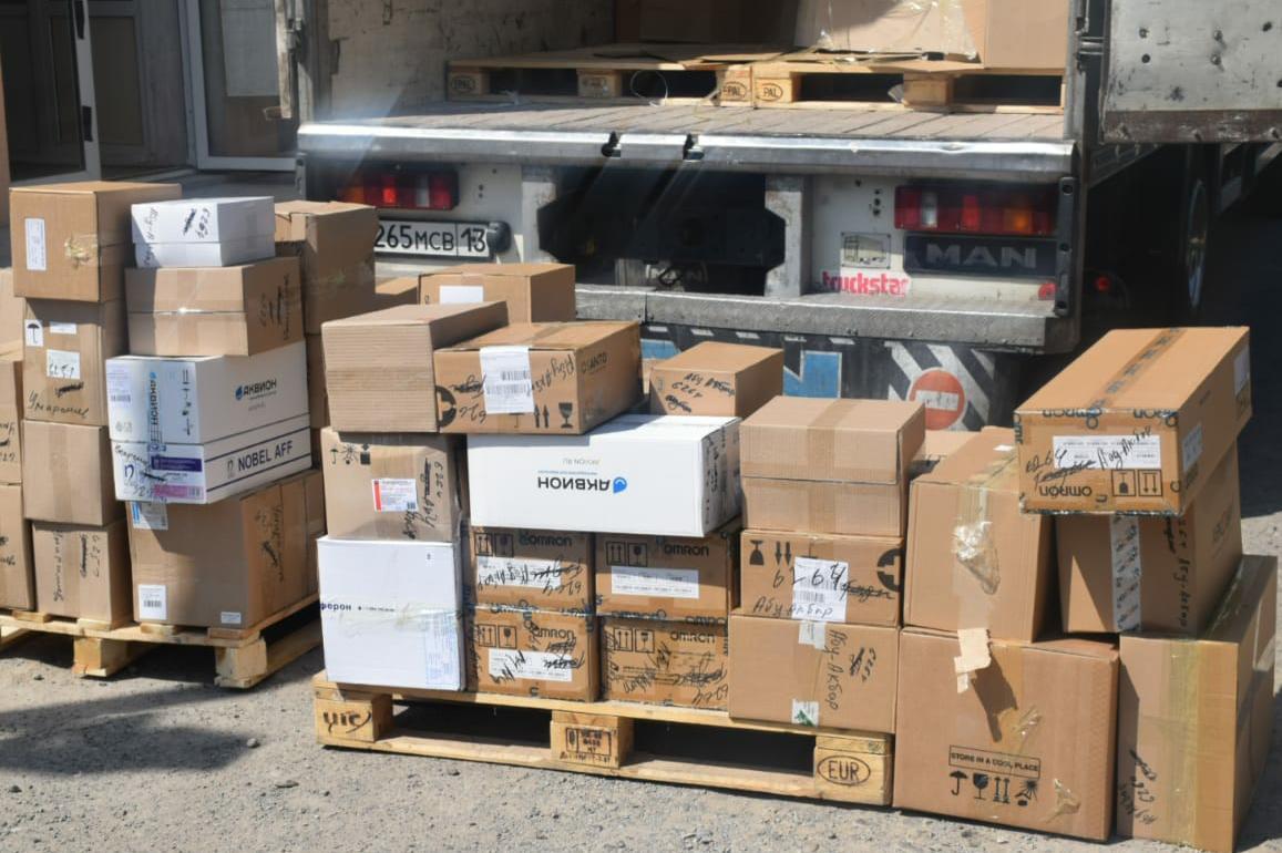 Аптеки Туркестана пополнились двумя тоннами различных лекарственных средств