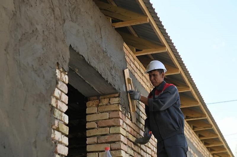 Восстановление Арыси после взрывов боеприпасов завершено на 97%