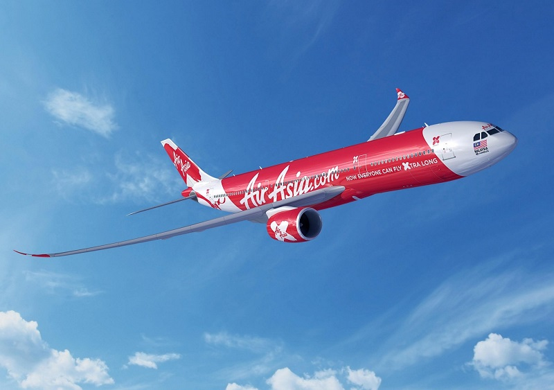 Малазийский лоукостер Air Asia X планирует открыть рейс в Казахстан