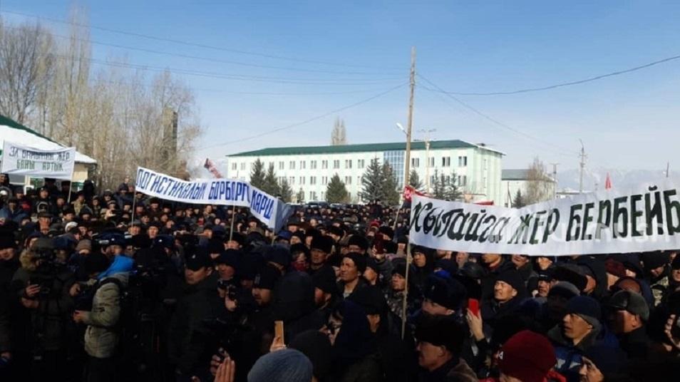 Қырғызстанда Қытай жобасы доғарылды