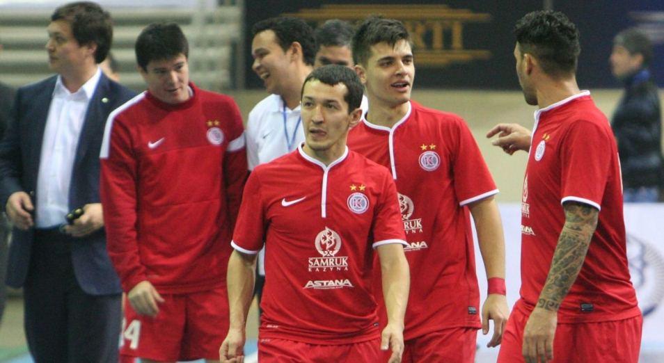 Лига чемпионов по футзалу: «Кайрат» пока второй в своём квартете