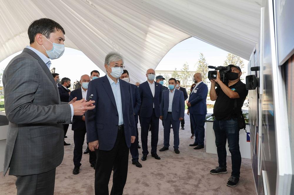 Президенту Казахстана рассказали о социально-экономическом развитии Туркестана