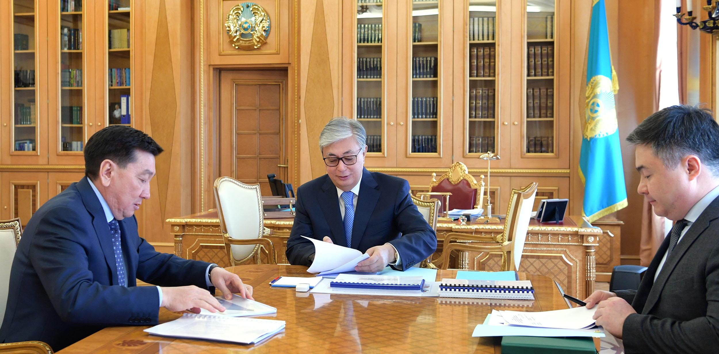 Президент РК поручил руководству КМГ завершить в срок все начатые инвестиционные проекты