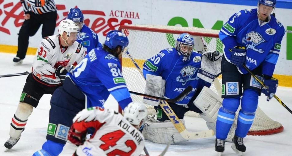 «Барыс» терпит третье поражение подряд в КХЛ