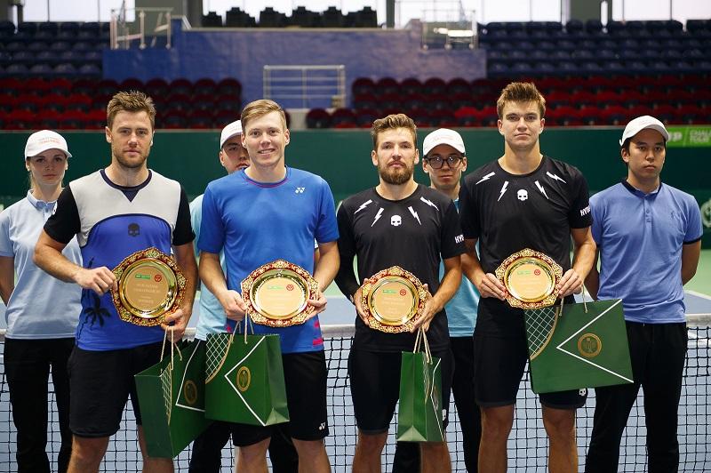 В столице завершился Международный турнир по теннису Nur-Sultan Challenger