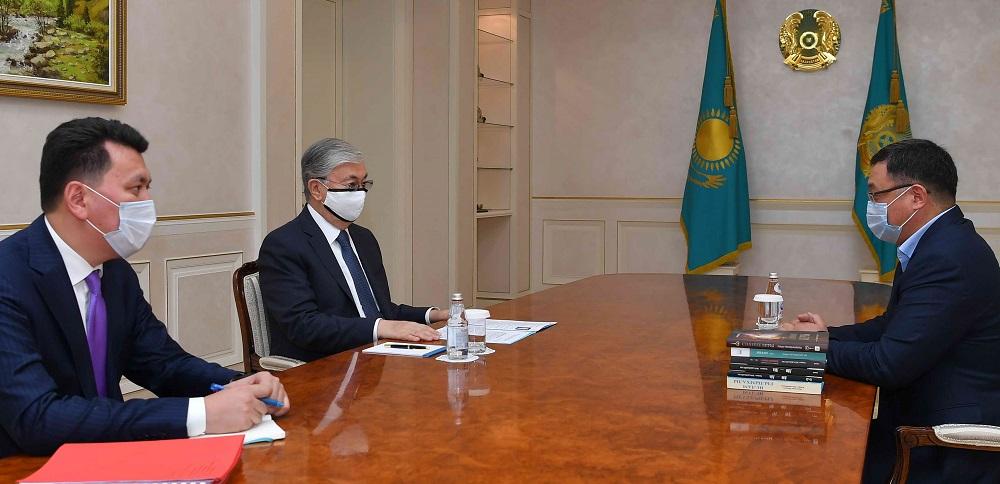 Касым-Жомарт Токаев провел встречи с членами Национального совета общественного доверия