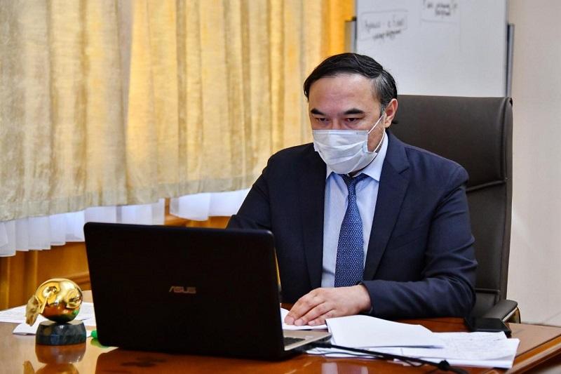 Ержан Бабакумаров провел совещание с главврачами по вопросам безопасности труда медработников
