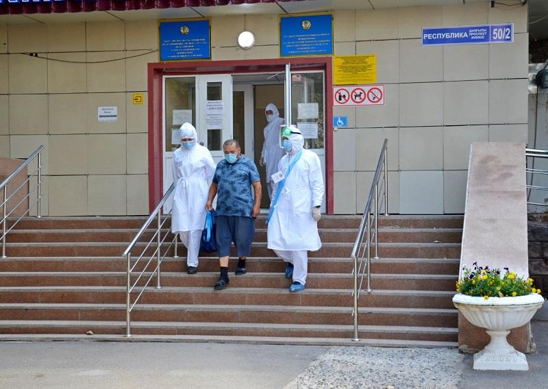 Более 300 пациентов выписали за сутки из столичных стационаров