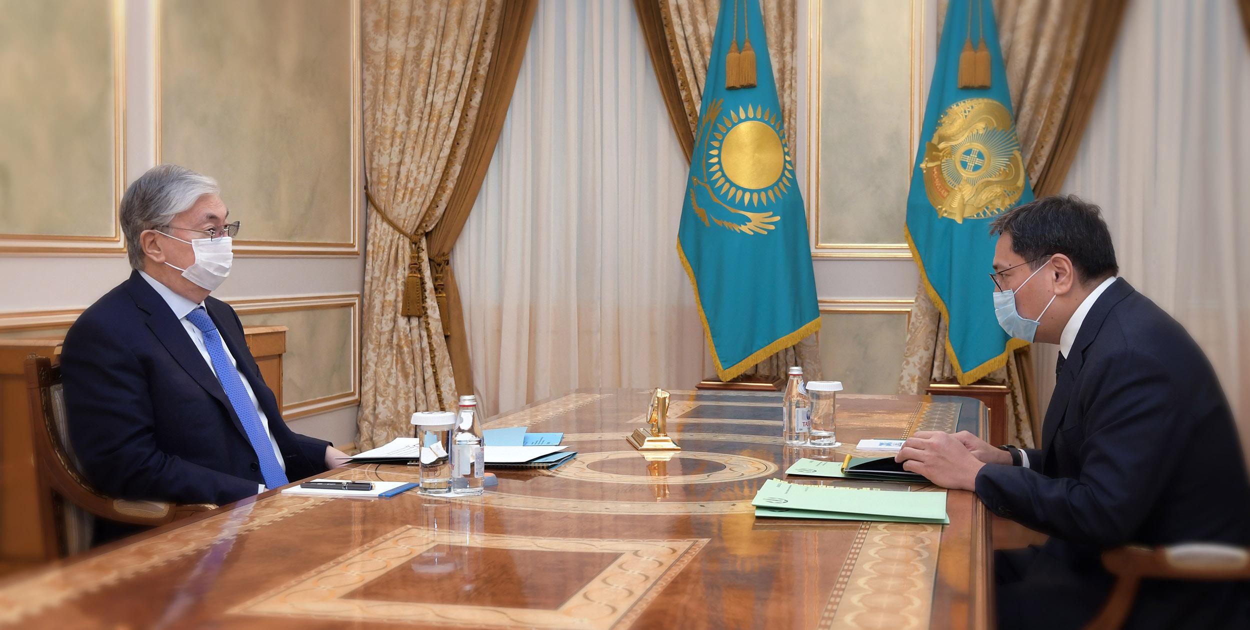 Что рассказал Ерболат Досаев президенту