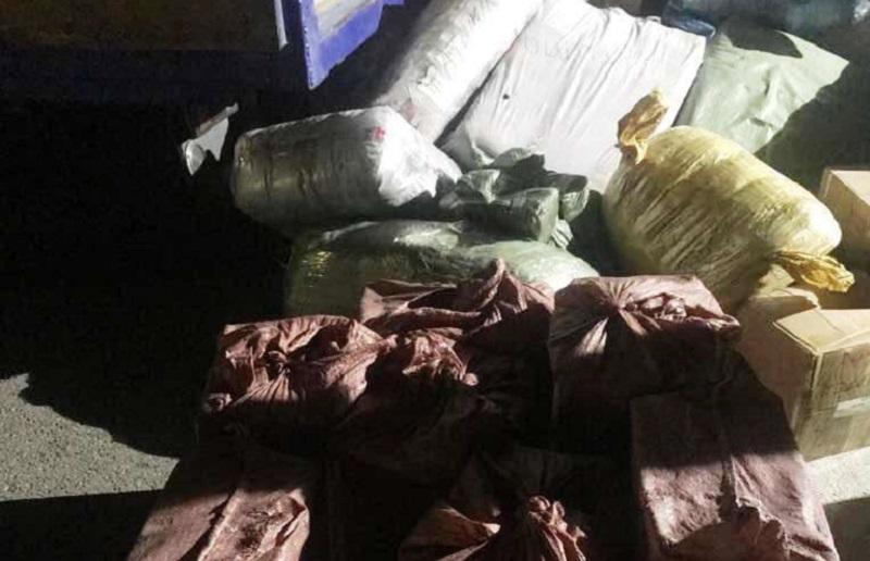 Контрабандные сигареты из Кыргызстана задержали в Казахстане