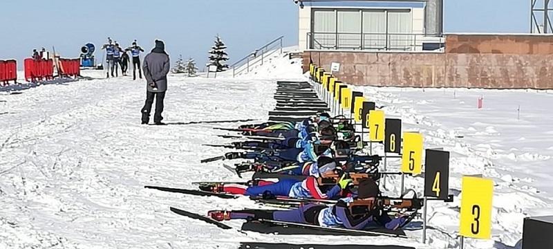 В Алматы продолжается чемпионат Казахстана по биатлону
