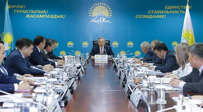 В Nur Otan рассмотрели меры по противодействию коррупции в Атырауской области
