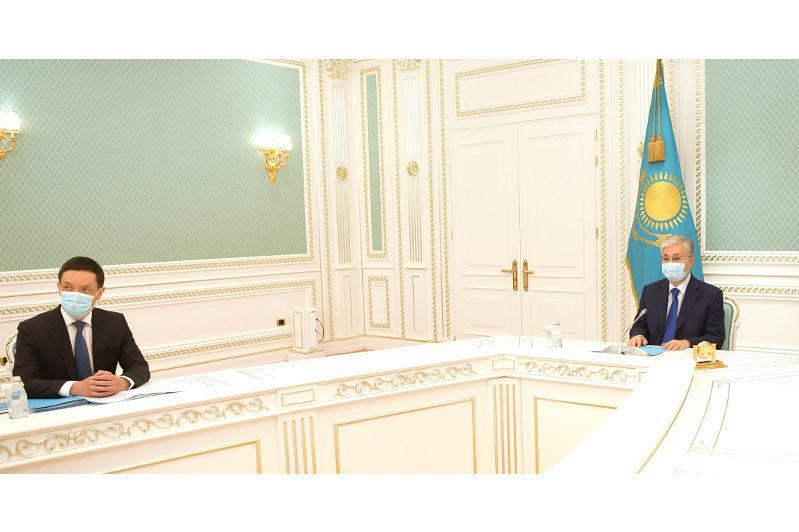 ҚР Президенті «Астана» халықаралық қаржы орталығы Соты Төрағасының ант беру рәсіміне қатысты