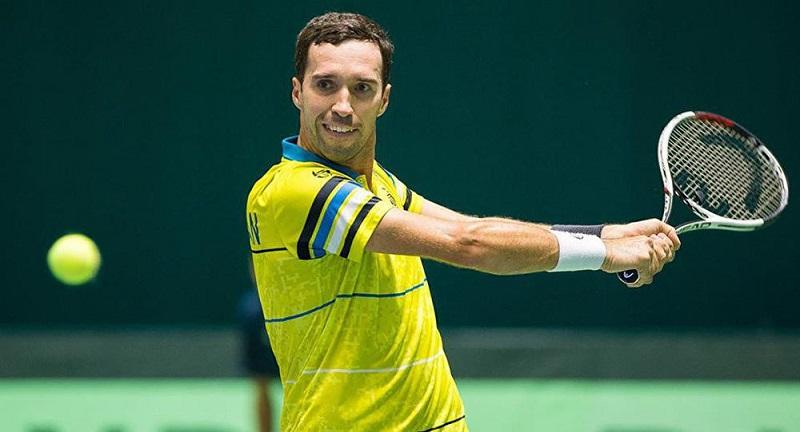 Михаил Кукушкин одержал первую победу на Международном теннисном турнире в Дохе