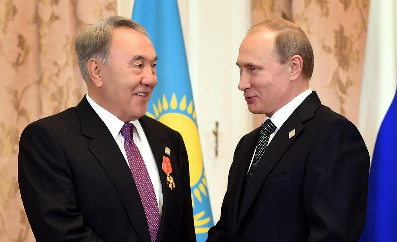 О чем говорили Назарбаев с Путиным