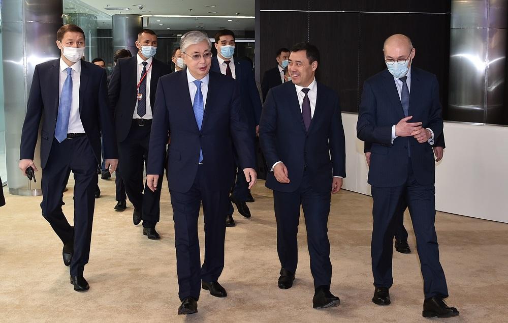Что в Нур-Султане посетили президенты Казахстана и Кыргызстана